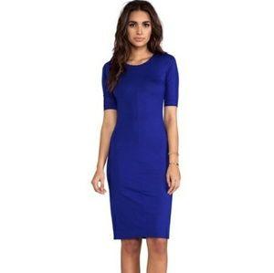 DVF Raquel Dress Tanzanite Blue Large